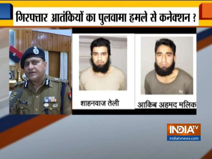 Two JeM terrorists arrested from Saharanpur