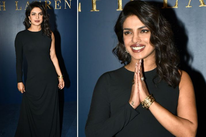 Priyanka Chopra stuns in an all-black outfit; Cost of THIS DRESS will blow your mind