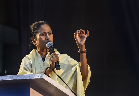 West Bengal Chief Minister Mamata Baneerjee