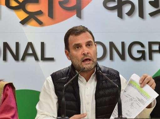 Probe Vadra, Chidambaram but give answers on Rafale: Rahul