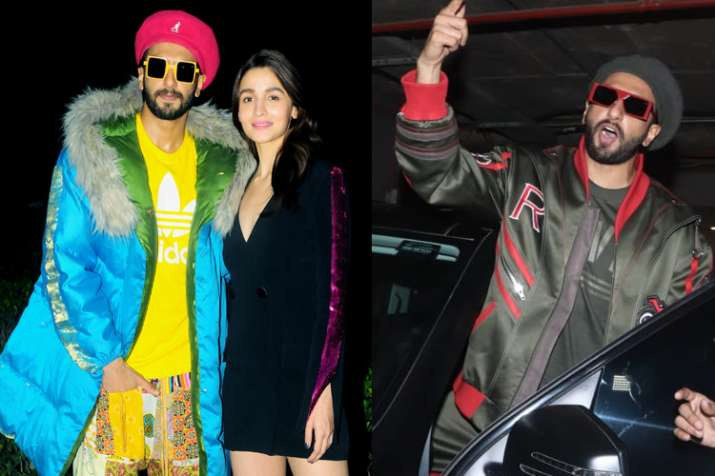 Ranveer Singh's flashy promotional looks for Gully Boy will make your jaw drop; See in PICS