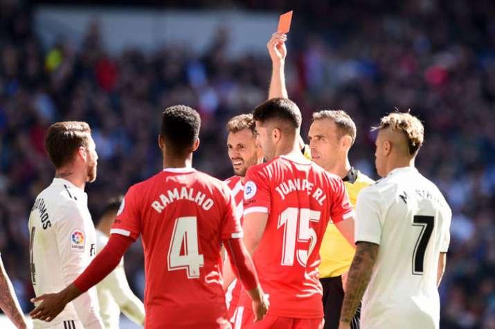 La Liga: Sergio Ramos sees red as Girona stun Real Madrid