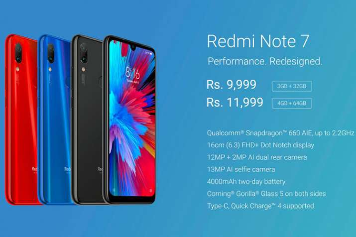 Redmi Note 7 To Go On Open  From Tomorrow Via Flipkart, Mi.com: Price & Specifications