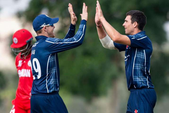 Scotland won the match with 280 balls to spare