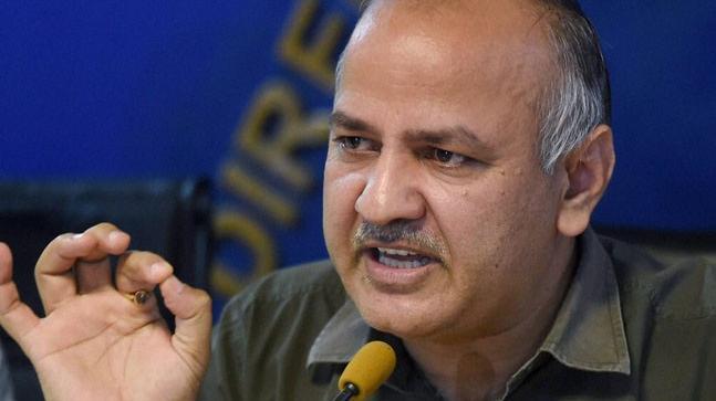 Delhi Finance Minister Manish Sisodia