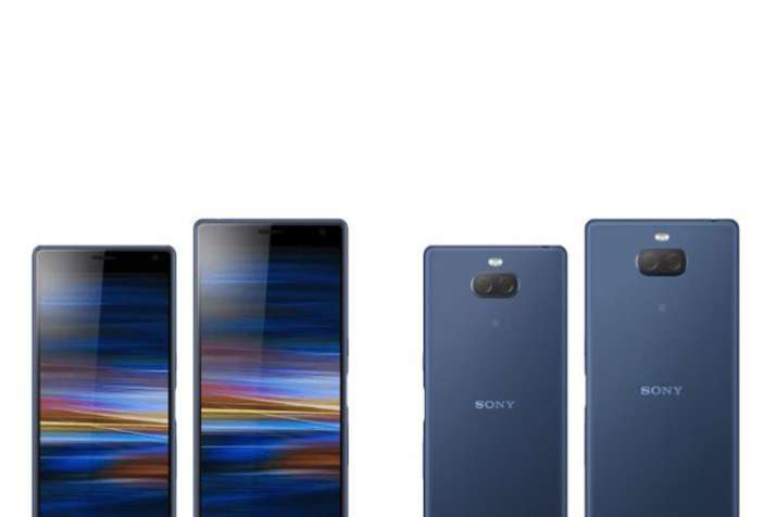 Sony Xperia XA3 Plus with dual rear camera and 21:9