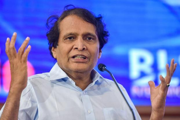 Union Minister of Civil Aviation Suresh Prabhu