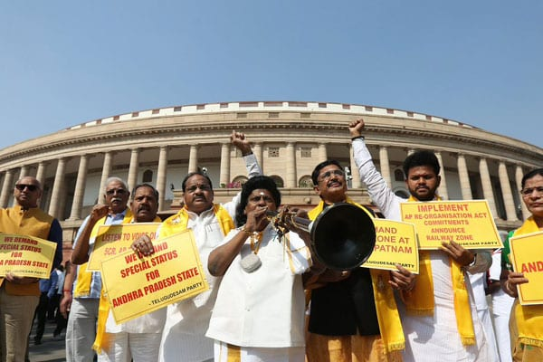 India TV Exclusive: 15 TDP MPs likely to resign from Lok Sabha on last day of session