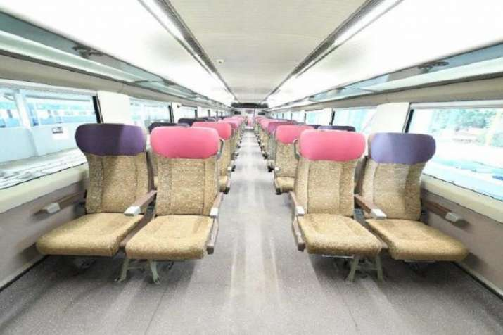 India Tv - Vande Bharat Express has comfortable seats.