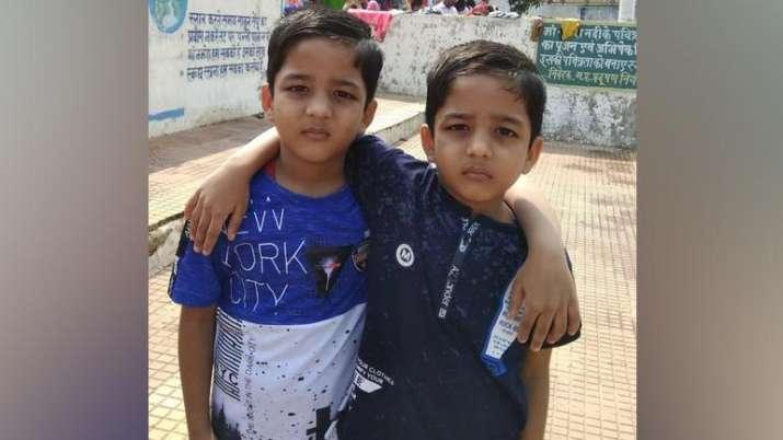 Twin brothers Shreyansh Rawat and Priyansh Rawat