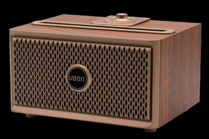 UBON SP 50 Wooden Wireless Vintage speaker launched in India