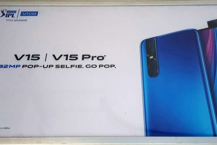Vivo V15 Pro with 32 Megapixel pop-up front camera set to launch in India on February 20