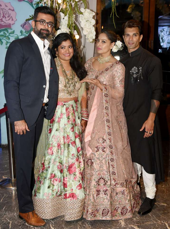 India Tv - Bipasha Basu sister wedding