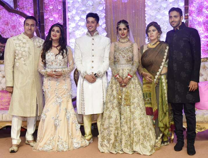India Tv - Azhar Morani's wedding