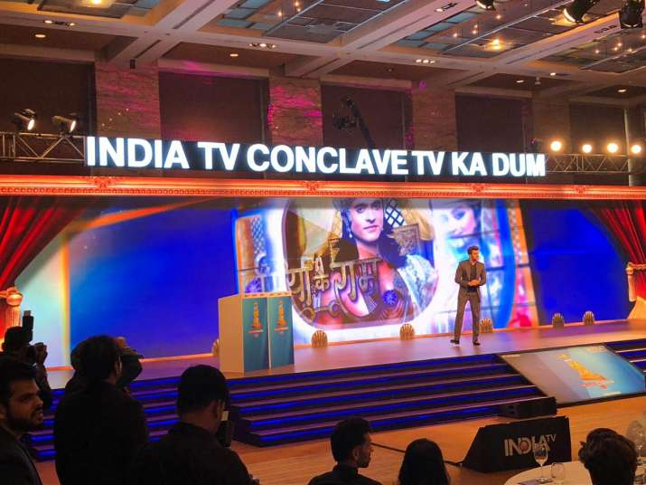 India Tv - Maniesh Paul on the stage
