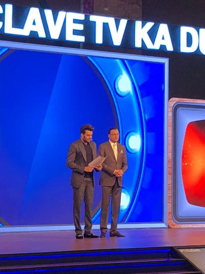 India Tv - Editor-in-Chief Rajat Sharma delivers keynote address
