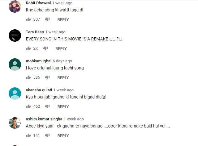 India Tv - Comments on Luka Chuppi songs