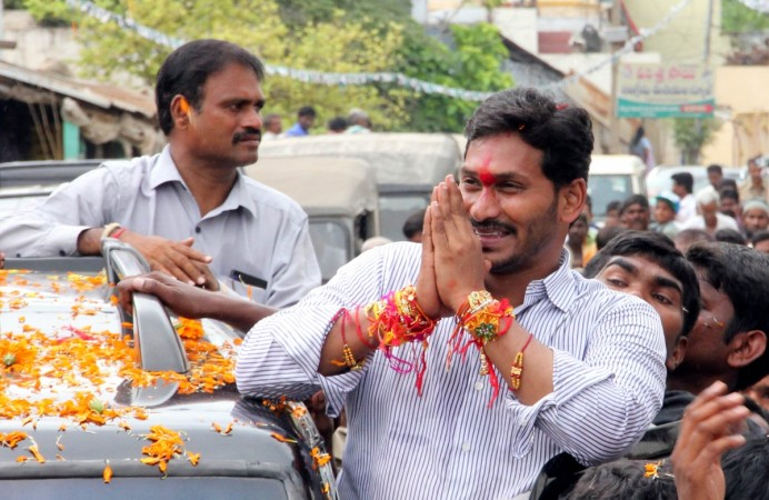 Jaganmohan Reddy declares assets worth Rs 375 crore