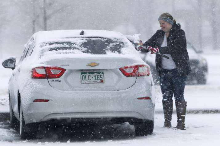 India Tv - 'Epic' storm brings blizzards, floods, tornado to mid-US