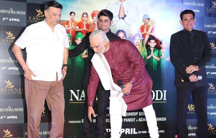India Tv - PM Narendra Biopic Trailer launch