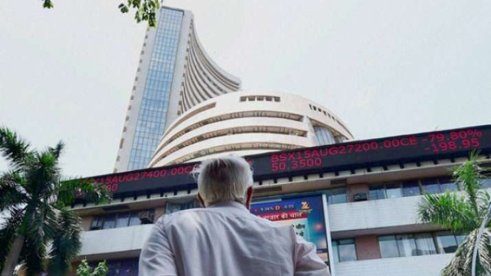 Sensex trades higher by 64 points at 36,700; Nifty at
