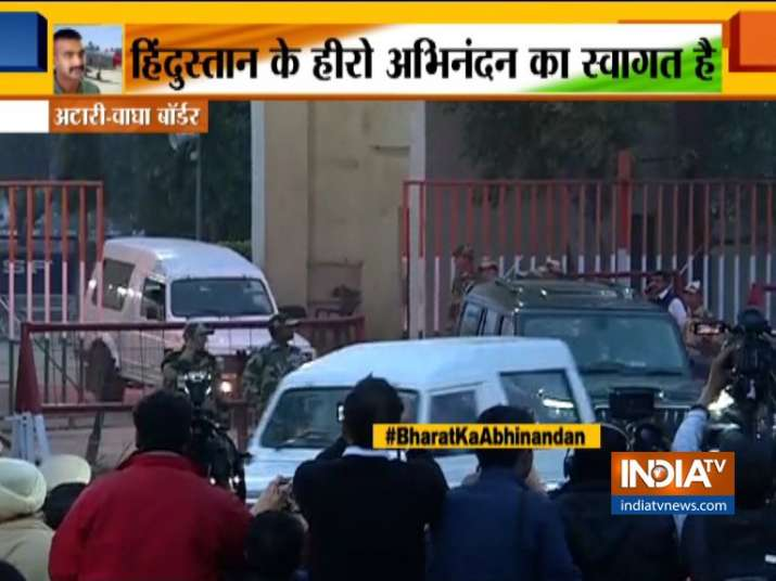 Wing Commander Abhinandan Varthaman walks back with head