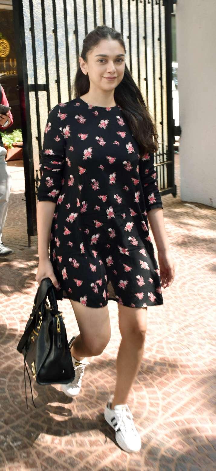 India Tv - In Pics: Bhoomi actress Aditi Rao Hydari looks all gorgeous in a printed Summer dress