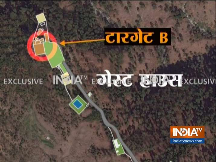 India Tv - Target B was a two-story complex which housed a guest house for top leaders of the terror outfit.