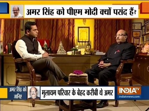 Amar Singh all praise for PM Modi, hints Jaya Prada could