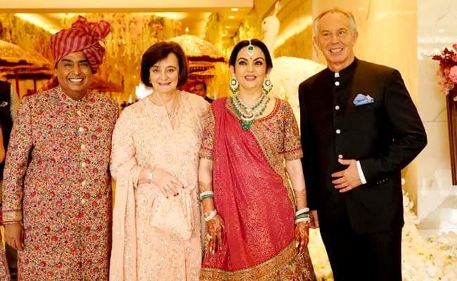 Akash Ambani weds Shloka Mehta