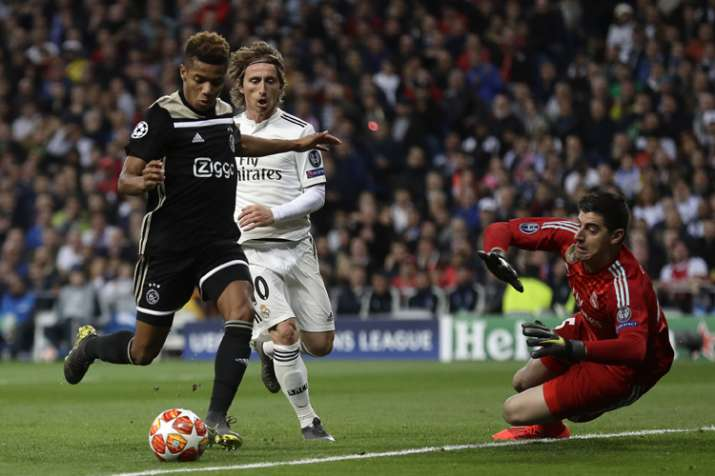 63ed642413e Champions League  Real Madrid s European reign ends with shock loss to Ajax