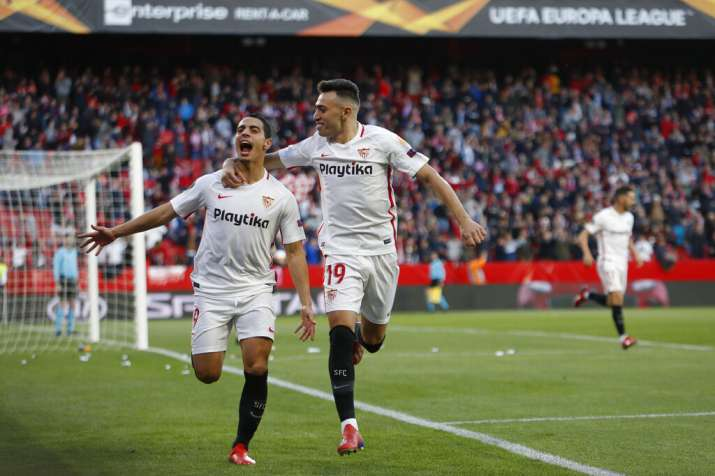 India Tv - Ben Yedder put Sevilla in command