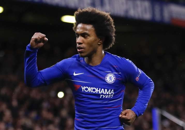 India Tv - Willian was amongst the goalscorers for Chelsea