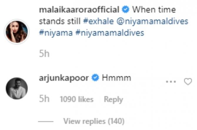 India Tv - Arjun Kapoor's comment on Malaika Arora's picture