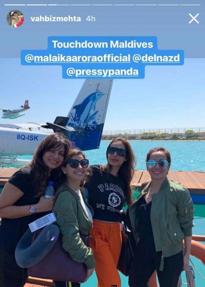 India Tv - Malaika Arora Maldives vacation