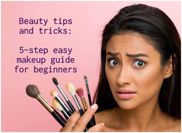 5 Simple Tips For Better People Pictures: Beauty Tips And Tricks: 5-step Easy Makeup Guide For