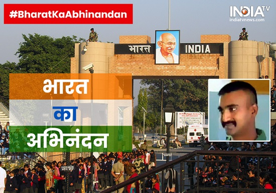 IAF Pilot Abhinandan returns India
