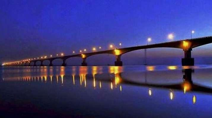 India Tv - Bhupen Hazarika Bridge, Assam