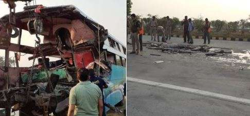 Greater Noida: 8 dead, 30 injured as bus rams into truck on