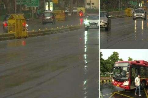 Light rain, thunderstorm in Delhi-NCR turns weather pleasant