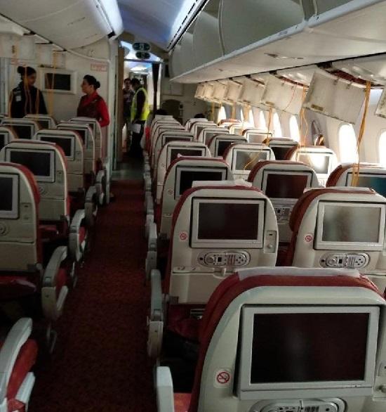 Cabin decompression on Air India Delhi to Frankfurt