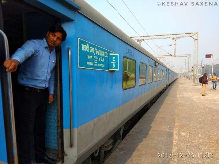 India Tv - New Delhi-Kanpur Shatabdi Express