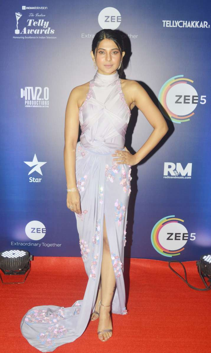 India Tv - Jennifer Winget at Indian Telly Awards 2019