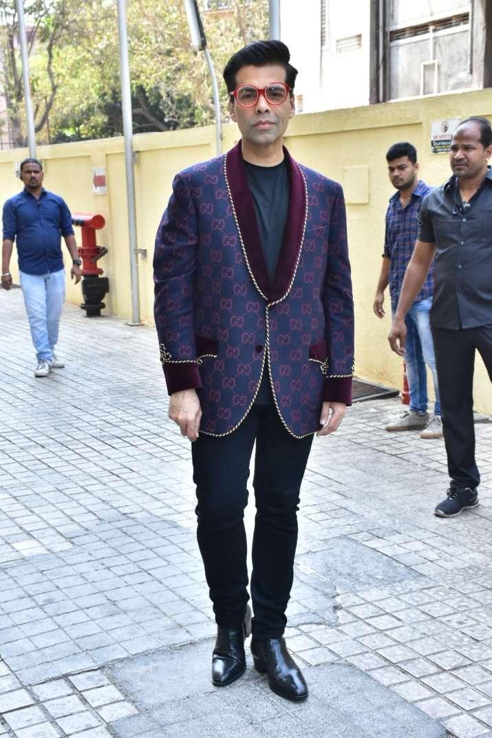 India Tv - Karan Johar at Kalank teaser launch