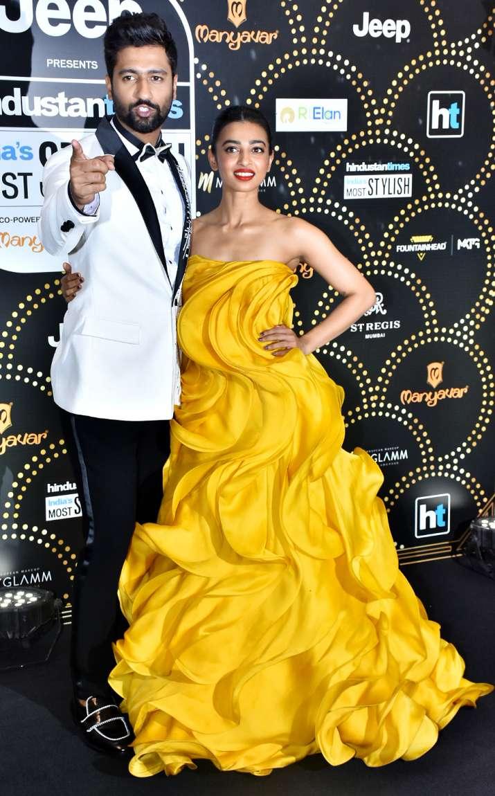 India Tv - Vicky Kaushal and Radhika Apte