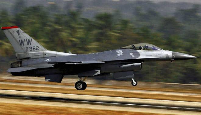 Representational Image of Pakistan's F-16 Fighter jet