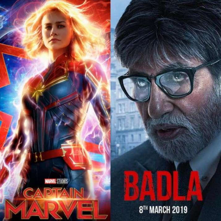 Friday releases: Badla and Captain Marvel in cinema halls