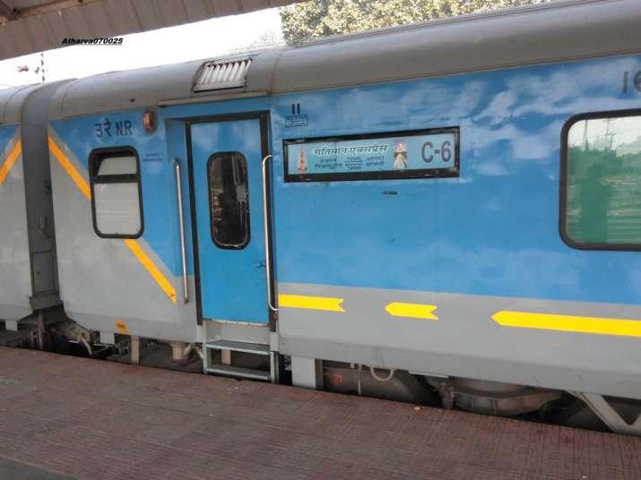 India Tv - Gatimaan Express (New Delhi-Agra)