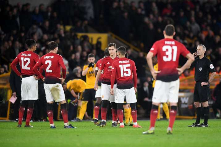 India Tv - Wolves ousted Manchester United from the FA Cup to reach the semis