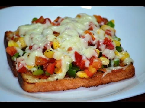Quick Breakfast Recipe How To Make Bread Pizza On Tawa Pan Food News India Tv